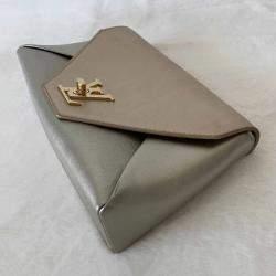 Louis Vuitton Metallic Leather Love Note Clutch