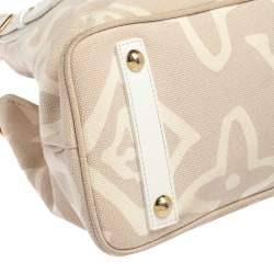 Louis Vuitton Beige Tahitienne Cabas Limited Edition PM Bag