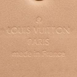 Louis Vuitton Noisette Monogram Vernis Sarah Wallet