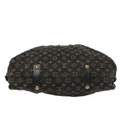 Louis Vuitton Black Monogram Denim Neo Cabby GM Bag