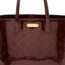 Louis Vuitton Rouge Fauviste Monogram Vernis Wilshire MM Bag