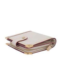 Louis Vuitton White Suhali Leather Le Talentueux Bag with Wallet