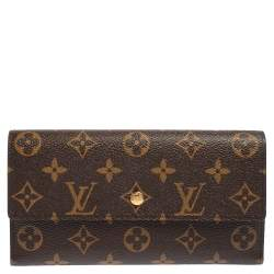 Louis Vuitton Monogram Canvas Porte-Tresor International Wallet