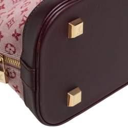 Louis Vuitton Cherry Monogram Mini Lin Horizontal Alma Bag