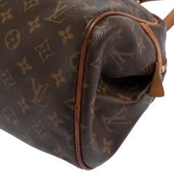 Louis Vuitton Monogram Canvas and Leather Montorgueil PM Bag