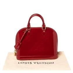 Louis Vuitton Pomme D'amour Monogram Vernis Alma PM Bag