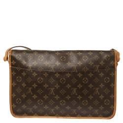 Louis Vuitton Monogram Canvas Sac Gibeciere GM Bag