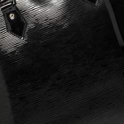 Louis Vuitton Black Electric Epi Leather Alma GM Bag