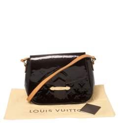 Louis Vuitton Amarante Monogram Vernis Leather Bellflower GM Bag