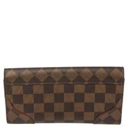 Louis Vuitton Damier Ebene Canvas Cerise Caissa Wallet