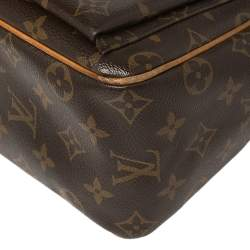 Louis Vuitton Monogram Canvas and Leather Trim Vicavite Bag