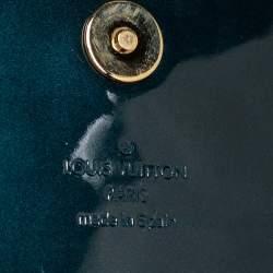 Louis Vuitton Blue Nuit Vernis Sobe Clutch