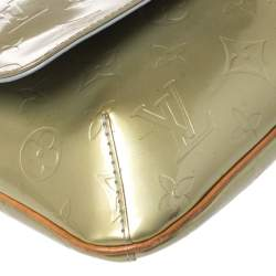Louis Vuitton Lime Monogram Vernis Thompson Street Bag