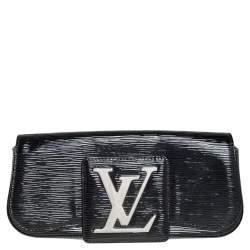 Louis Vuitton Black Electric Epi Leather Sobe Clutch