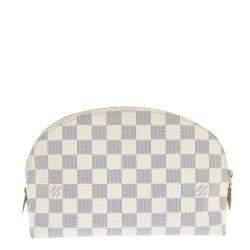 Louis Vuitton Damier Azur Canvas Cosmetic GM Pouch