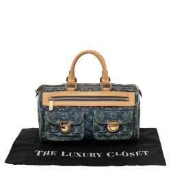 Louis Vuitton Blue Monogram Denim Neo Speedy Bag