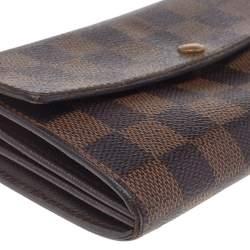Louis Vuitton Damier Ebene Canvas Porte-Tresor International Wallet