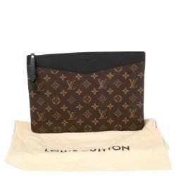 Louis Vuitton Black Monogram Canvas Daily Pouch