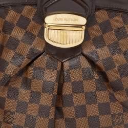 Louis Vuitton Damier Ebene Canvas Sistina GM Bag