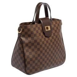 Louis Vuitton Damier Ebene Canvas Cabas Rosebery Bag