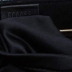 Louis Vuitton Black Monogram Limited Edition Motard Before Dark Clutch