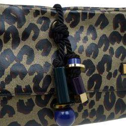Louis Vuitton Limited Edition Leopard Nocturne African Queen Clutch