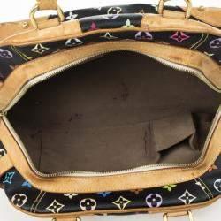 Louis Vuitton Multicolor Black Claudia Satchel