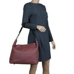 Louis Vuitton Framboise Monogram Antheia Leather Hobo PM Bag
