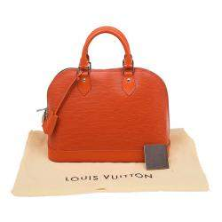 Louis Vuitton Piment Epi Leather Alma PM Bag