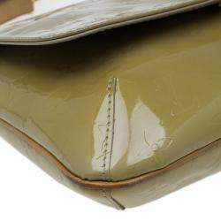 Louis Vuitton Beige Monogram Vernis Thompson Street Bag