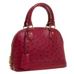 Louis Vuitton Jaipur Ostrich Alma BB Bag