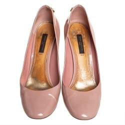 Louis Vuitton Pink Patent Leather Oh Really!  Pumps Size 36.5