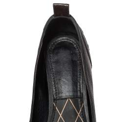 Louis Vuitton Monogram Coated Canvas New Revival Ballet Flats Size 40