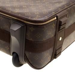 حقيبة سفر لوي فيتون بيغاسه لايت كانفاس دامييه إيبين 55