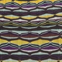M Missoni Multicolor Patterned Jacquard Knot Sleeveless Top S