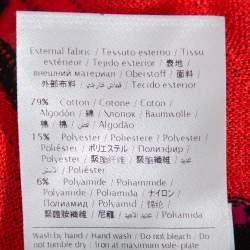 M Missoni Red & Black Zig Zag Pattern Knit Tank Top & Open Front Cardigan L