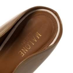 Malone Souliers Beige leather Maureen Pumps Size 37.5