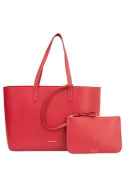 حقيبة يد منصور غافرييل كبيرة جلد فليما / فليما