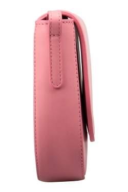Mansur Gavriel Light Pink Leather Mini Crossbody Bag