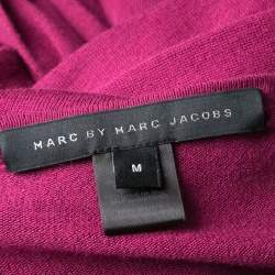Marc by Marc Jacobs Vineyard Knit Draped Pleat Detail Ruched Sweater Tunic  M