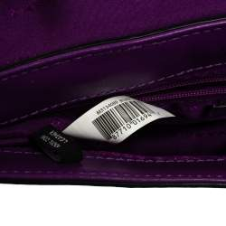 Marc by Marc Jacobs Purple Leather Tangram Anna Envelope Clutch
