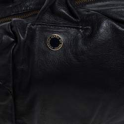 Marc By Marc Jacobs Black Leather Satchel