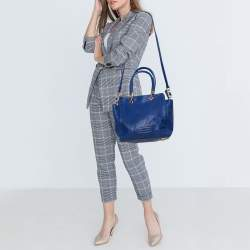 Marc by Marc Jacobs Indigo Leather Bentley Tote