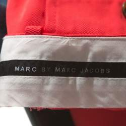Marc By Marc Jacobs Scarlet Red Twill Clark Shorts L