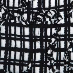 Marc Jacobs Monchrome Printed Midi Dress M