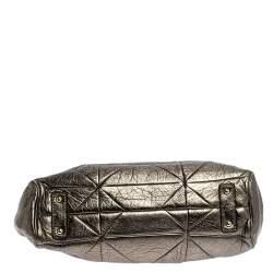 Marc Jacobs Metallic Quilted Leather Stam Shoulder Bag