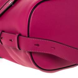 Marc Jacobs Magenta Leather The Sling Convertible Bag