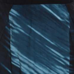 Marni Indigo Printed Cotton Skirt S