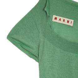 Marni Short Sleeve Knit Top XS