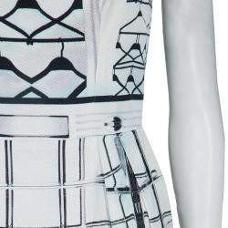 Mary Katrantzou Printed Strapless Dress M